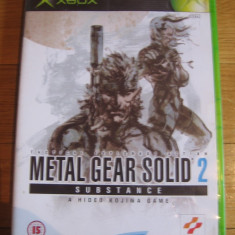 JOC XBOX clasic METAL GEAR SOLID 2 SUBSTANCE ORIGINAL PAL / STOC REAL / by DARK WADDER - Jocuri Xbox, Actiune, 16+, Single player