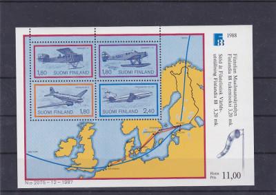 Aviatie Avioane Harta Finlanda Europa Okazii Ro