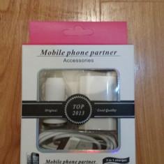 INCARCATOR iPhone 3G / 3GS / 4 / 4s  Masina si Casa, De priza si masina