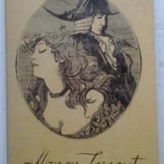 ABATELE PREVOST - MANON LESCAUT - Roman, Anul publicarii: 1992