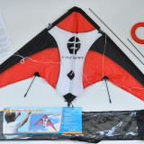 Zmeu (kite) in forma delta pentru acrobatii si divertisment - 120 x 60 cm