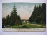 Carte postala Brasov circulata 1905