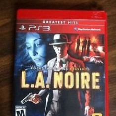 L.A.Noire PS3 - Jocuri PS3 Rockstar Games, Actiune, 16+, Single player