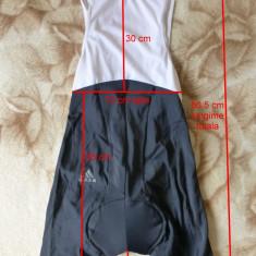 Pantaloni cu bretele ciclism Adidas, originali; marime XL: vezi dimensiuni - Echipament Ciclism