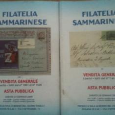 Lot reviste filatelice - Italia Filatelia Sammarinese, full color, 50 roni lotul, taxele postale gratuite