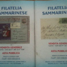 Lot reviste filatelice - Italia Filatelia Sammarinese, full color, 50 roni lotul, taxele postale gratuite