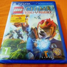 Joc LEGO Chima Laval's Journey, PS Vita, sigilat, alte sute de jocuri! - Jocuri PS Vita, Actiune, 3+, Single player