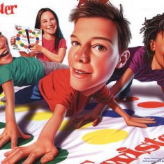 Joc Twister pentru copii si adulti, Unisex