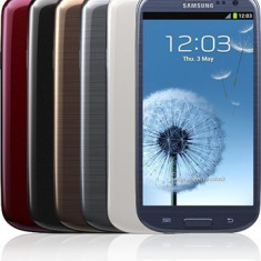 Samsung galaxy S III - Telefon mobil Samsung Galaxy S3, Maro, 16GB, Neblocat, Quad core, 1 GB