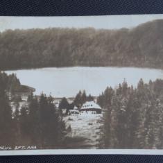 CP - Tusnad - Lacul Sft Ana - Fotograf Adler Oscar - local - necirculat