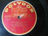 Alfred Piccaver-disc gramofon/patefon Polydor; pe fata I-Maria Mari; fata II-Torna a soriento; stare impecabila!, VINIL