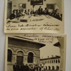 Fotografii militare - 1931 la Manastirea Caldarusani - Fotografie veche