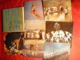 Carnet cu 12 Ilustrate - Balet -Cantecul Padurii - Ukraina ,tiraj 85 000 ex ,1968, Necirculata