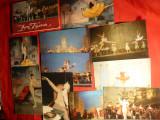 Carnet cu 15 Ilustrate - Balet -Don Quijote -Teatrul Balsoi ,1969, Necirculata