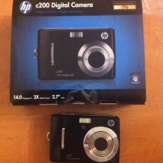 Aparat foto digital hp c200 nou+ card memorie 2gb - Aparat Foto compact HP, Compact, 14 Mpx, 3x, 2.7 inch