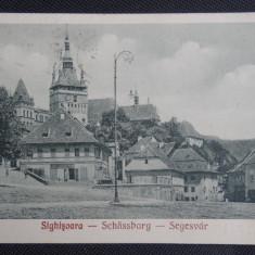 CP - Sighisoara - 1928 - Circulata - Deosebita - stare perfect