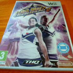 All Star Cheerleader 2, Wii, original si sigilat, alte sute de jocuri! - Jocuri WII Thq, Simulatoare, 3+, Single player