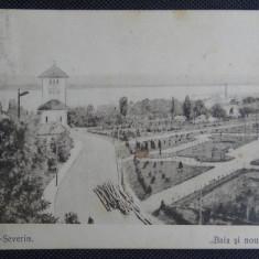 CP - Turnul Severin - Baia si noua plantatie - Circulat - Cenzura