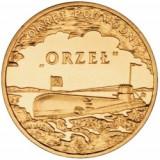 Polonia 2 zloty 2012 UNC nava Orzel