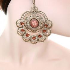 Cercei Eleganti cu Pietricele Decorative - Cercei Fashion