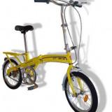 """Bicicleta Pliabila 16"""" la oferta, Numar viteze: 1, Fara amortizor"""