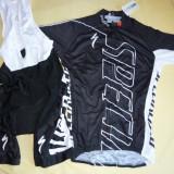 Echipament ciclism complet specialized negru NOU set pantaloni tricou
