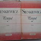 SIENKIEWICZ - POTOPUL (2 VOL.) - Roman, Anul publicarii: 1989