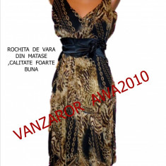 ROCHITE DE VARA MATERIAL MATASICA, LIVRARE GRATUITA, Marime: M, L, Culoare: Maro, Midi, Cu bretele