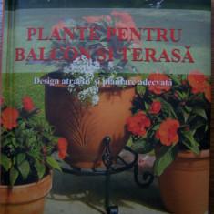 PLANTE PENTRU BALCON SI TERASA. Design atractiv si plantare adecvata (2008) - Carte gradinarit
