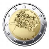 MALTA 2 euro comemorativ 2013, UNC