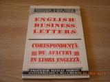 CORESPONDENTA DE AFACERI IN LIMBA ENGLEZA