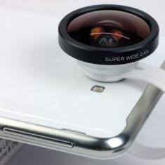 Cadou ideal, lentila fish eye 140 grade, pentru marirea campului vizual al telefonului