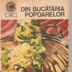 (C4763) DIN BUCATARIA POPOARELOR DE DOINA DRAGOS, EDITURA CERES, 1973 - Carte Retete culinare internationale