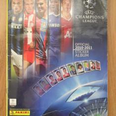 ALBUM PANINI - UEFA CHAMPIONS LEAGUE - EDITIA 2010 - 2011