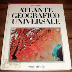 ATLANTE GEOGRAFICO UNIVERSALE - Piero Dagradi ( atlas geografic in limba italiana )