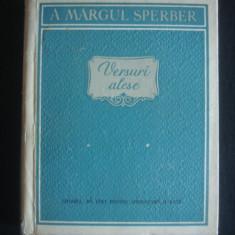 A. MARGUL SPERBER - VERSURI ALESE {1957}