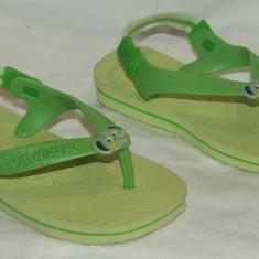 Papuci copii HAVAIANAS - nr 21 - Slapi copii, Baieti, Verde