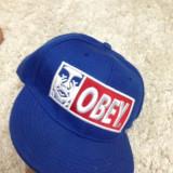Sapca snapback OBEY - Sapca Barbati, Marime universala, Albastru