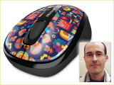 Mouse Microsoft Wireless Mobile 3500 Limited Edition Artist Series NOI!