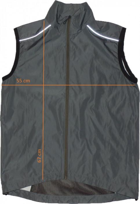 Vesta sport ciclism jogging MEDICO windstopper frontal (L) cod-158341 foto mare