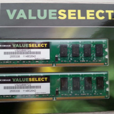 Memorie RAM DDR2 Corsair ValueSelect 2Gb 667Mhz
