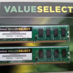 Memorie RAM DDR2 Corsair ValueSelect 2Gb 667Mhz