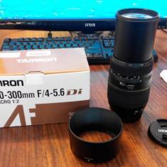 Obiectiv TAMRON 70-300mm F/4-5.6 pentru SONY / MINOLTA - Obiectiv DSLR Tamron, Tele, Autofocus, Minolta - Md
