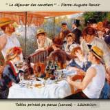 Tablou canvas Renoir - Le Dejeuner des canotiers - 120x80cm