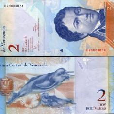 VENEZUELA- 2 BOLIVARES 2013- UNC!!