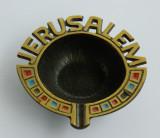 SCRUMIERA JERUSALEM bronz Israel
