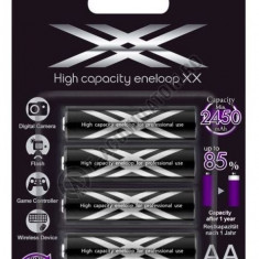 Acumulatori XX Eneloop AA 2550 mAh blister de 4 buc- NOU!!! - Baterie Aparat foto Sanyo, Tip AA (R6)