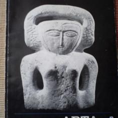 revista Arta plastica nr. 12 carte arta cultura album ilustrat foto RPR 1966