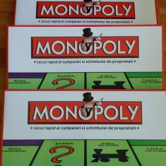 Monopoly in limba romana clasic joc de societate, joc educativ