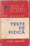 (C4753) TESTE DE FIZICA DE EDUARD-VICTOR GUGUI, EDITURA ALBATROS, 1980